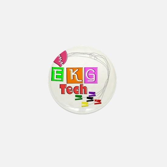 EKG Tech Mini Button