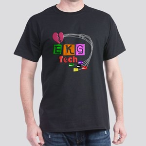 EKG Tech Dark T-Shirt