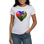 Puzzle Heart Women's T-Shirt