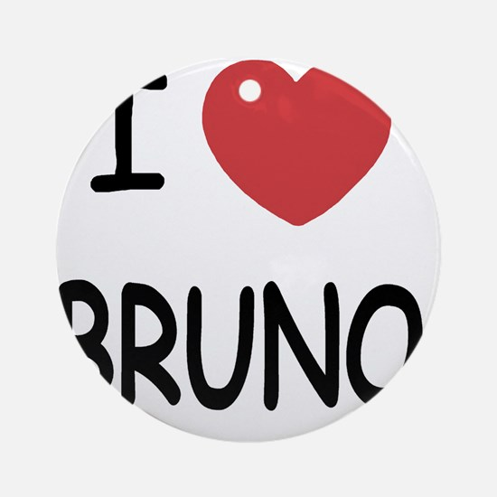 BRUNO Round Ornament