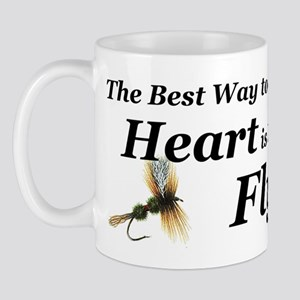 flies boy short Mug