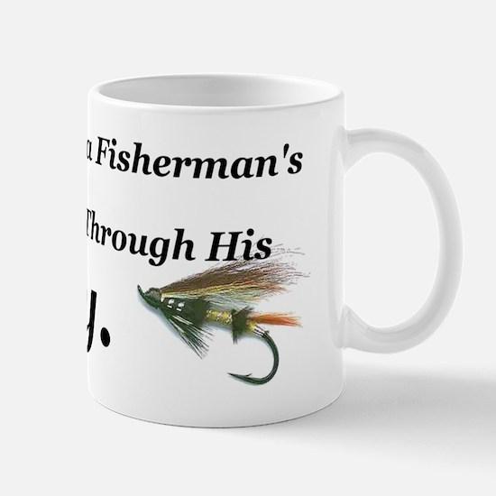 flies boy short Mug