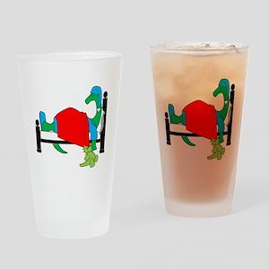 dinosnore dk Drinking Glass