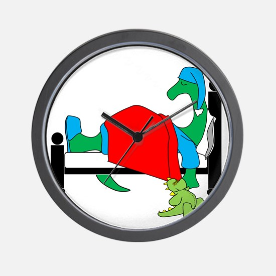 dinosnore dk Wall Clock