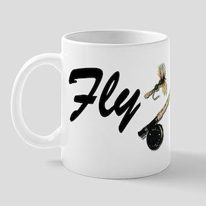 fly girl boy short Mug