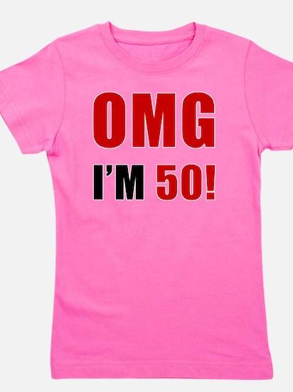 omg50 Girl's Tee
