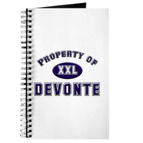 Property of devonte Journal