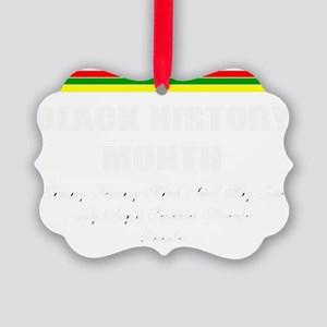 Black History month Picture Ornament