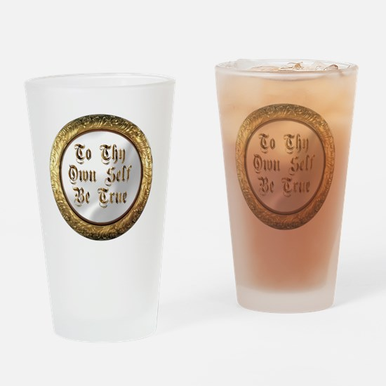 be true Drinking Glass