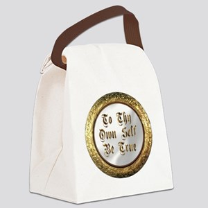 be true Canvas Lunch Bag