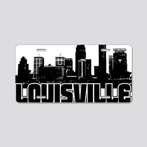 Louisville Skyline Aluminum License Plate