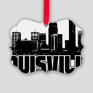 Louisville Skyline Picture Ornament