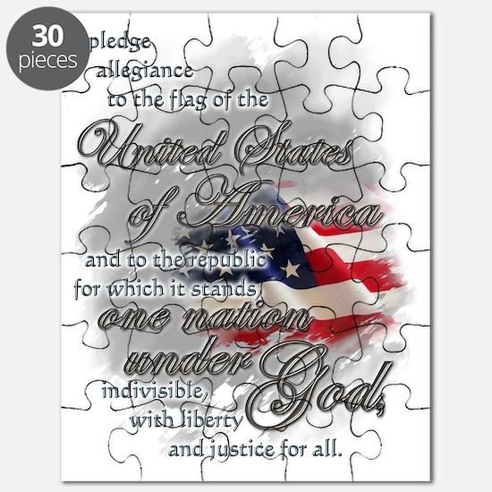 US PLEDGE OF ALLEGIANCE Puzzle