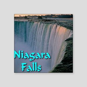 "Niagara_Falls Square Sticker 3"" x 3"""