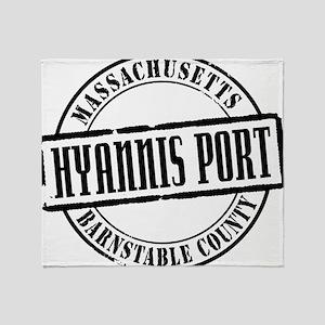 Hyannis Port Title W Throw Blanket