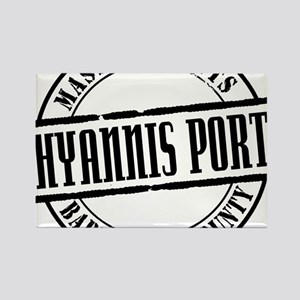 Hyannis Port Title W Rectangle Magnet