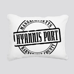 Hyannis Port Title W Rectangular Canvas Pillow