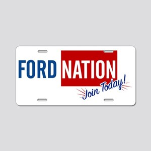FORD_NATION_JOIN Aluminum License Plate