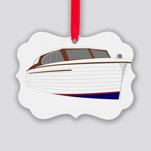 Woodie Picture Ornament