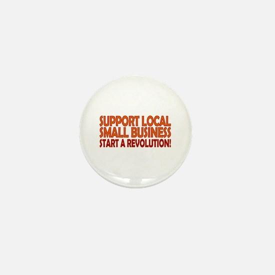 Support Local Mini Button