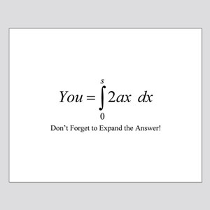 Your Math Insult Small Poster