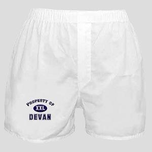 Property of devan Boxer Shorts