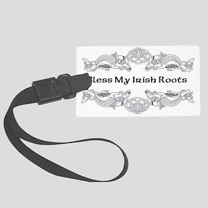 My Irish Roots Large Luggage Tag