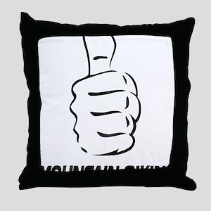 LIke_MTB Throw Pillow