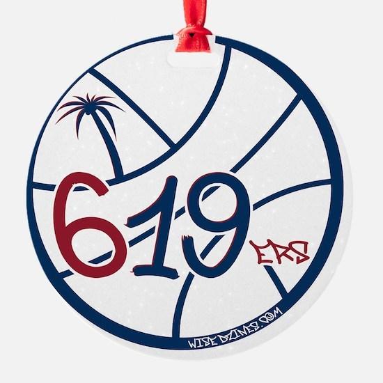 619ers Ornament