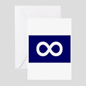 Metis Flag Greeting Cards (Pk of 10)