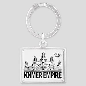 khmer empire small design Landscape Keychain