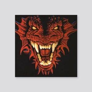 "dragon_21618 Square Sticker 3"" x 3"""