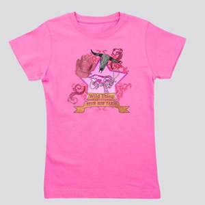 CowGirl Wild Thing never been tamed Pin Girl's Tee