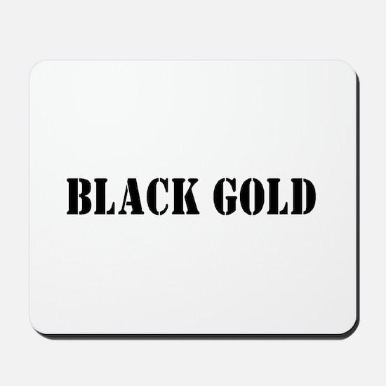 Black Gold Mousepad
