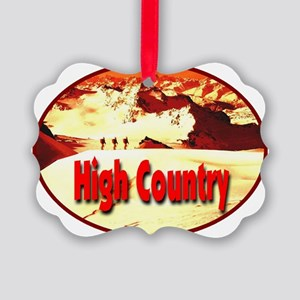High_country_transparent Picture Ornament