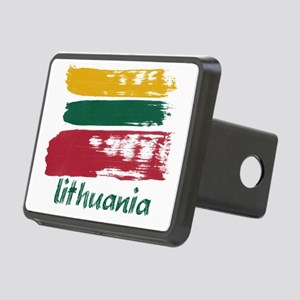 lithuania1 Rectangular Hitch Cover