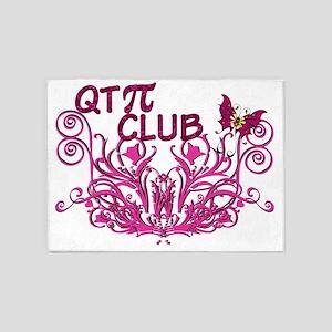 QTPi Club final 5'x7'Area Rug