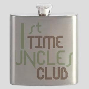 1sttimeunclesclubgreen Flask