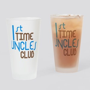 1sttimeunclesclubblue Drinking Glass