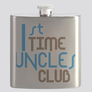 1sttimeunclesclubblue Flask