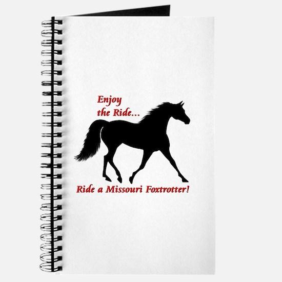 Cute Missouri fox trotting horse Journal