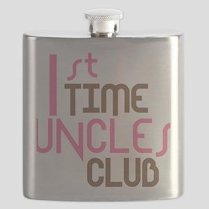 1sttimeunclesclubpink Flask