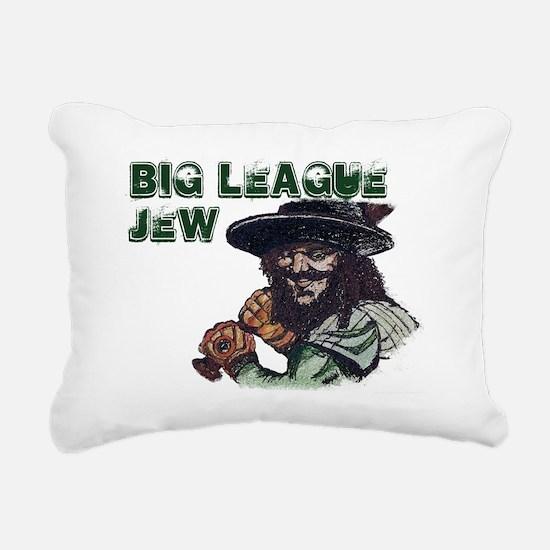 Big League Jew Rectangular Canvas Pillow
