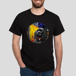 J-ORN-Cafe-Cocker-black Dark T-Shirt