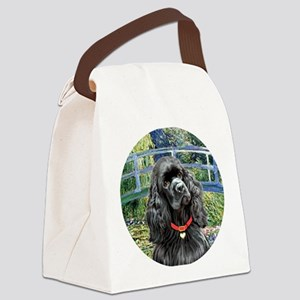 J-ORN-Bridge-Cocker-black Canvas Lunch Bag