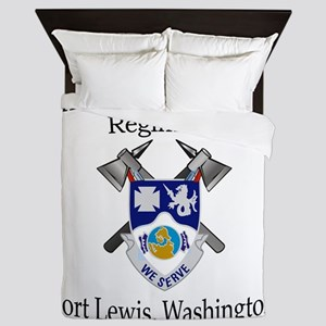 4th Bn 23rd Infantry Queen Duvet