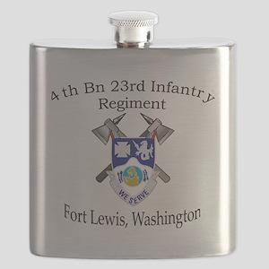 4th Bn 23rd Infantry Flask
