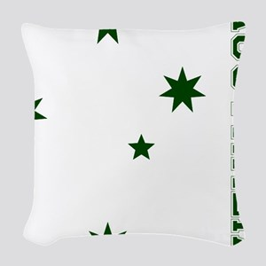 S-Cross-Front Woven Throw Pillow