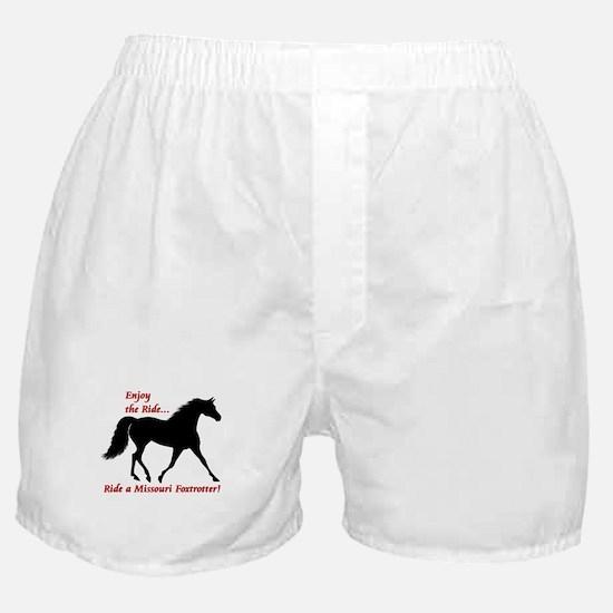 Cute Missouri fox trotter Boxer Shorts