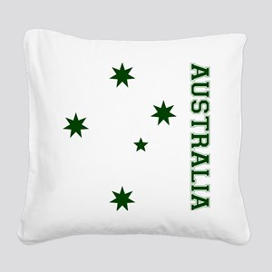 S-Cross-Front Square Canvas Pillow